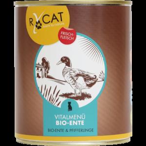 RyCat Ente Bio Katzenfutter